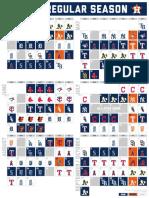 Houston Astros 2021 Schedule