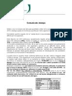 Dati Mercato Lav Gen 2011 Con Dichiarazioni