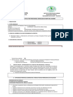 Esquema de Informe de Practica Pre Porfesional Modular por Parte del Alumno