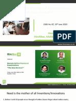 KAAM_Remote_Online_Examination_Platform_Speakers Final