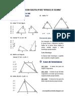 Matematica3 - Semana 14 Guia de Estudio Semejanza de Triangulos II Ccesa007