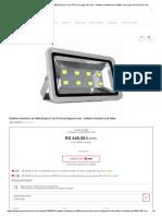 Refletor Holofote Led 400w Branco Frio A Prova Dágua 8 Leds - Refletor Holofote Led 400w nas Lojas Americanas.com.pdf