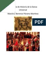 Antología H. Iniversal de la Danza