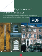 Building Regulations and Historic Buildings 2002 - English Heritage