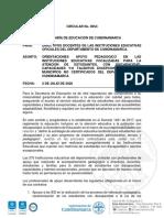 CIRCULAR DOCENTES DE APOYO INCLUSIÓN