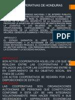2. LEY DE COOPERATIVAS DE HONDURA.