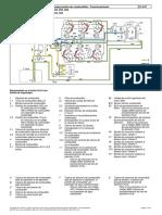 Circuito de baja presión de combustible - Funcionamiento Actros 3332k