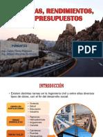CARRETERAS, RENDIMIENTOS, COSTOS Y PRESUPUESTOS FINAL.pdf