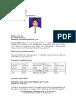 IILM Resume Format-Edited (Copy)