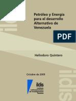 Petroleo y Energia para el Desarrollo Alternativo de Venezuela