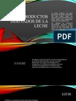 PRODUCTOS DERIVADOS DE LA LECHE