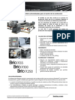 Brio-X-series_Fashion_technical-datasheet_es