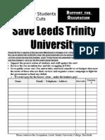 Save Leeds Trinity