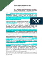 Primera parte del curso de procedimiento administrativo- Pantaleon Narvaez