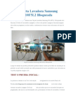 Tarjeta Lavadora Samsung WA10F5L2 Bloqueada