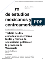 8Tertulia de dos ciudades modernismo tardío y formas de sociabilidad política en la pr
