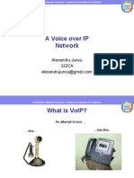 A Voice over IP Network - Presentation