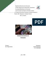 Sistema Económico en Venezuela. 3era de sistema econ.