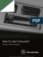 Rádio CD Bluetooth Actros, Axor e Atego 14 (22.10.13)