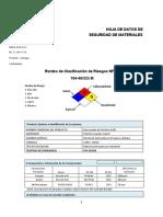 MSDS GLP MEGA GAS SAC - ENERO 2020