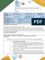 Guía de actividades y rúbrica de evaluación - Fase final - Crear proyect