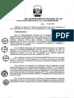 Central Resolución 233-2015-SN