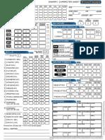 StarFinder Super Character Sheet