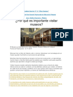 5 APUNTE- VISITA A MUSEOS