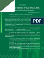 PARECER - FASE 1 - ISOLAMENTO SOCIAL RÍGIDO - DECRETO ESTADUAL E MUNICIPAL DE FORTALEZA