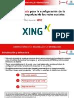 Guías de ayuda para la configuración de la privacidad y seguridad de las redes sociales