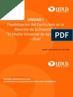 CLASE 1 Diseño Universal de Aprendizaje