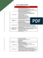 Líneas de investigación y temas sugeridos