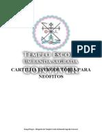 Sumário Cartilha TEUSC Neófitos