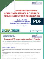 REGEOCITIES P4 - BPIE - Serban Danciu - Financial solutions