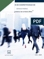 Informe Cárnicos Andinos según Matriz RMG
