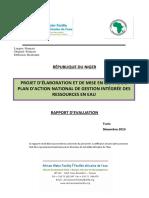 PROJET D'ÉLABORATION ET DE MISE EN ŒUVRE DU PLAN D'ACTION NATIONAL DE GESTION INTÉGRÉE DES RESSOURCES EN EAU  PANGIRE-Niger.pdf