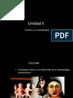 UNIDAD II cultura