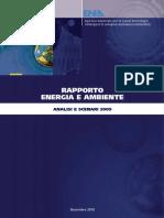ENEA - Rapporto Energia e Ambiente (novembre 2010) - Analisi e Scenari 2009