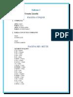 Italiano I - Unita 1 - Acuña Lisseth