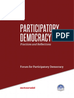 Participatory Democracy - Practices and Reflections