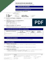 Sulfato de Potasio (Granupotasse) - Hoja de Seguridad - Tessenderlo