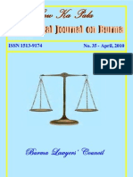 """LawKa pala"" formerly ""Journal of Constitutional Affairs"" No. 35 english"