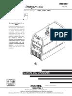 IMS919.pdf motosoldadora Ranger 205