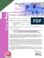 UGT - Ficha de Prevención 27 - FPS y Factores Subjetivos