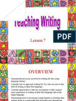 Lesson 7 Teaching Writing