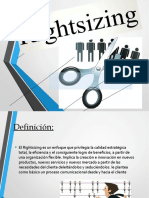 PPT Rightsizing GESTION GERENCIAL