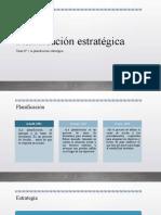 Planificación estratégicama N° 1