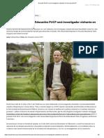 Docente PUCP será investigador visitante en Harvard _ PUCP