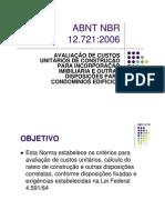 Microsoft Power Point - Aula ABNT NBR 12721