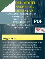 MODEL-MODEL KONSEPTUAL KEPERAWATAN